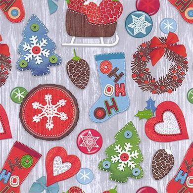Geschenkpapier Weihnachten Inzell 49311