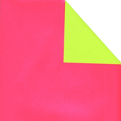 Gift wrap double sided plain pearl-pink/apple green 70114