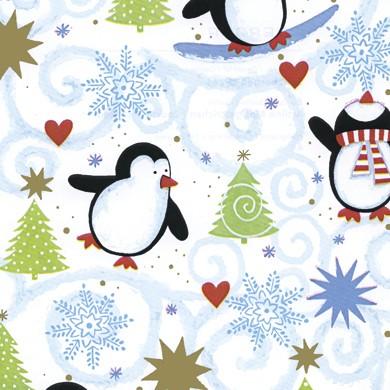 Geschenkpapier Weihnachten Spitzbergen 49284