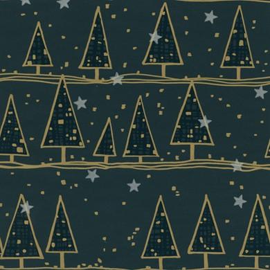 Geschenkpapier Weihnachten Alpach grün 59915