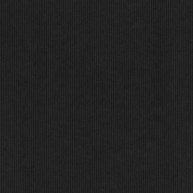 Geschenkpapier Vollton - schwarz 30720 - einseitig bedruckt (braun enggerippt)