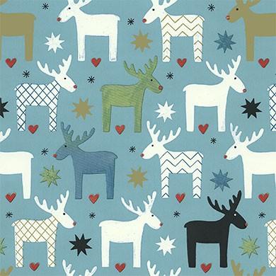 Geschenkpapier Weihnachten Kalmar 49304