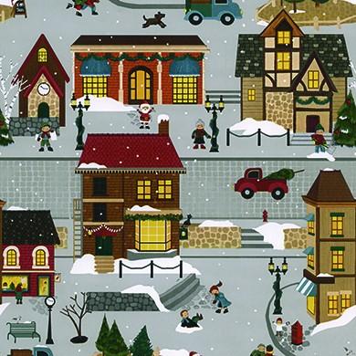 Geschenkpapier Weihnachten Ruhpolding 49296