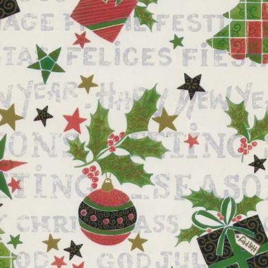 Geschenkpapier Weihnachten Serfaus 49276