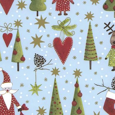 Geschenkpapier Weihnachten Zermatt