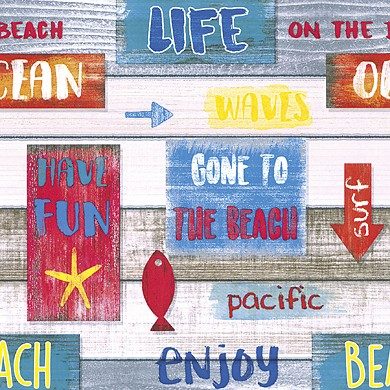 Geschenkpapier Beach 30136