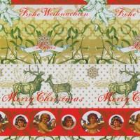 Geschenkpapier Weihnachten Ramsau 49268