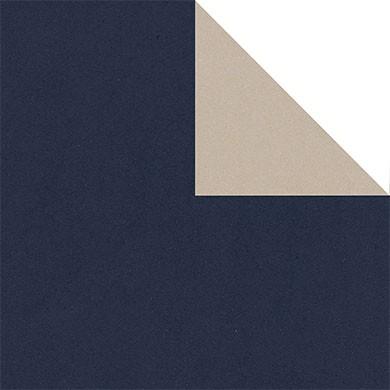 Geschenkpapier Vollton - blau 30052 - einseitig bedruckt (Graspapier)