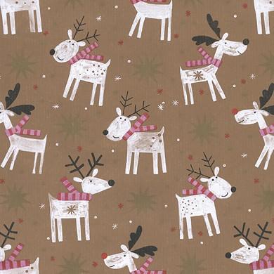Gift wrap christmas Reni 49323