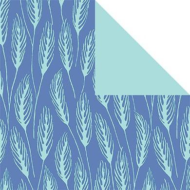 Geschenkpapier Avignon jeansblau 70171
