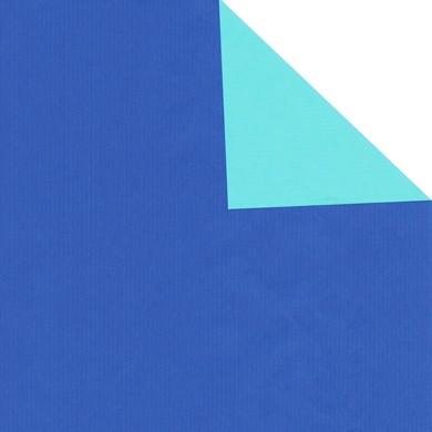 Geschenkpapier Vollton - zweiseitig bedruckt (weiß enggerippt)