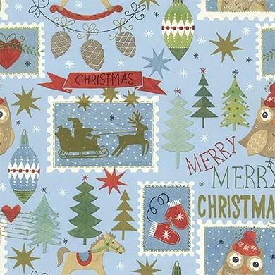 Geschenkpapier Weihnachten Tannheim 49303