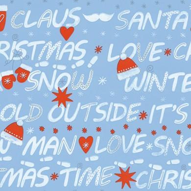 Gift wrap christmas Snowville 59727