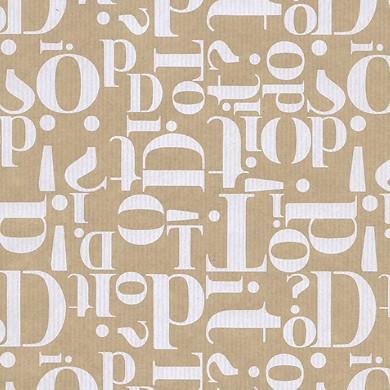 Geschenkpapier Letters glossy 60710