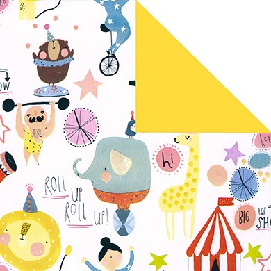Geschenkpapier Circus 60205