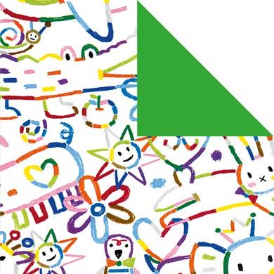 Geschenkpapier Kunterbunt 60253