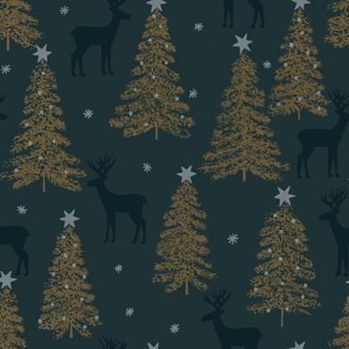 Geschenkpapier Weihnachten Lenggries grün 59917
